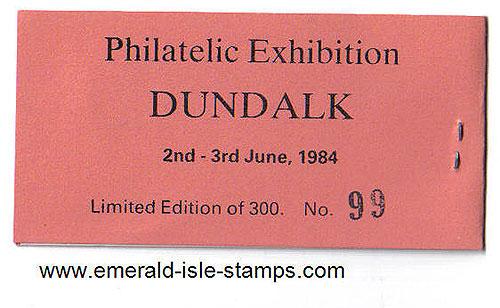 Ireland 1984 Dundalk Stamp Show Souvenir Bklt