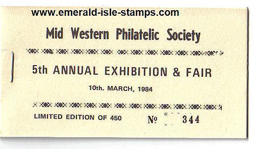 Ireland 1984 Mid Western Society Souvenir Bklt
