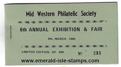 Ireland 1985 Mid Western Society Souvenir Bklt