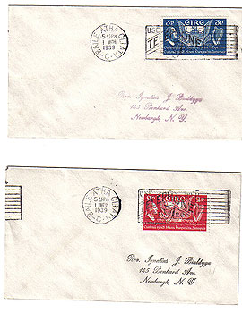 Ireland 1939 American Constitution Pair First Day Cover