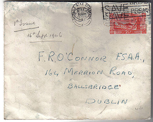 Ireland 1946 FDC Land Reform First Day Cover