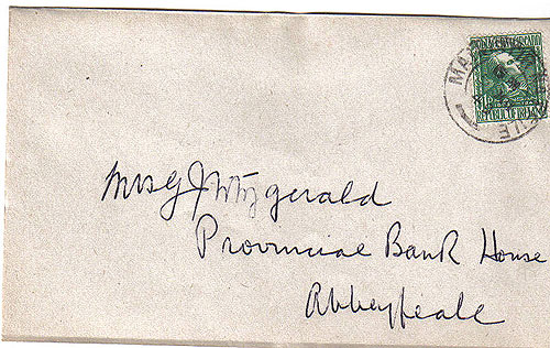 Ireland 1949 Fdc James Clarence Mangan Poet First Day