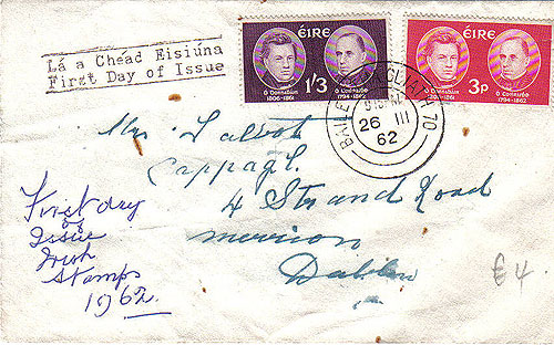 Ireland 1962 Fdc Celtic Scholars