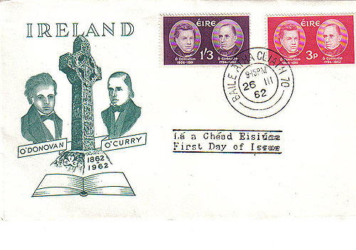 Ireland 1962 Fdc Scholars Illustrated first