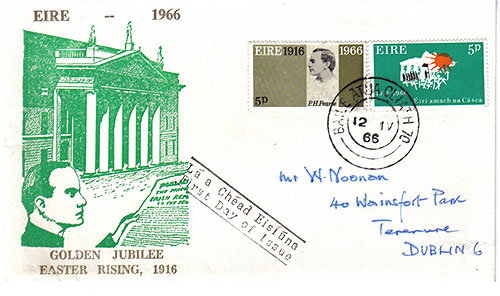 Ireland 1966 FDC Easter Rising GPO