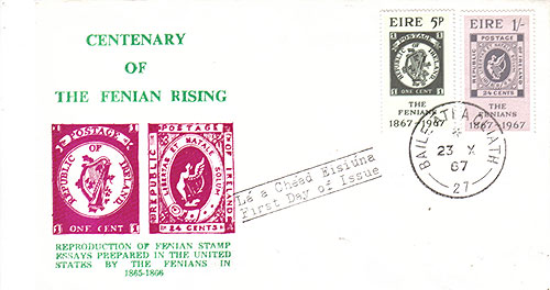 Ireland 1967 FDC Fenian Rising essays