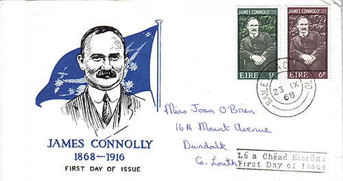 Ireland 1968 FDC James Connolly