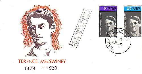 Ireland 1970 Fdc Maccurtain Macswiney Patriots (harp)36