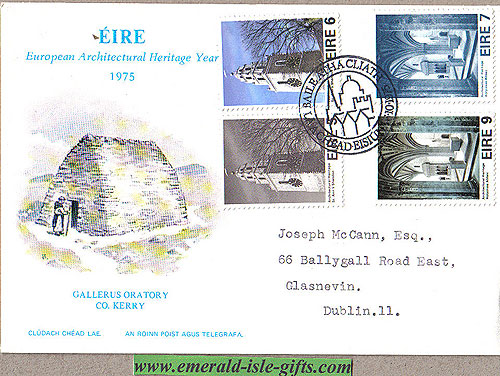 Ireland 1975 Fdc Architectural Heritage (an Post)