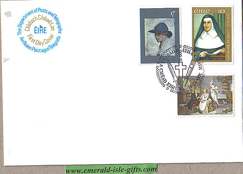 Ireland 1978 Fdc Mcauley, Small Pox, Orpen (an Post)