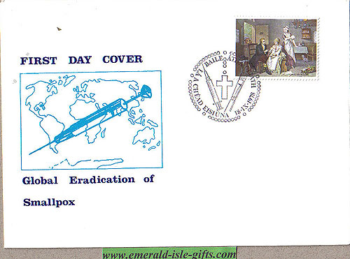 Ireland 1978 Fdc Eradication Of Small Pox (whyte)