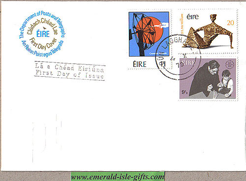 Ireland 1979 Fdc John Of God, Energy, Mcwill (an Post)