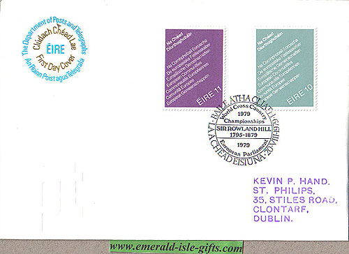 Ireland 1979 Fdc Europe Parliament Elections (an Post)