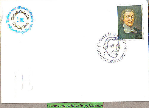 Ireland 1980 Fdc De La Salle Centenary (an Post)