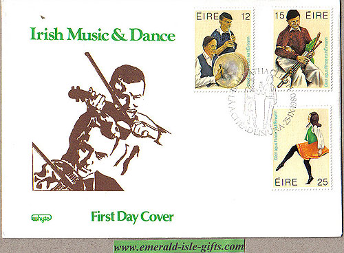Ireland 1980 Fdc Music & Dance First Day Cover (whyte)