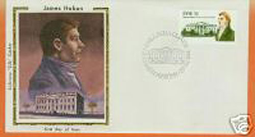 Ireland 1981 Fdc James Hoban Silk Cachet (colorano)