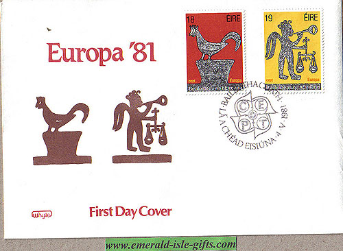 Ireland 1981 Fdc Europa: Folklore (whyte)