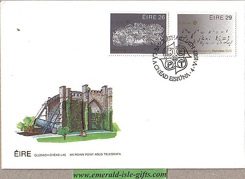 Ireland 1983 Fdc Europa Louis Le Brocquy (an Post)