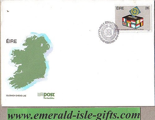 Ireland 1984 Fdc European Elections (an Post)