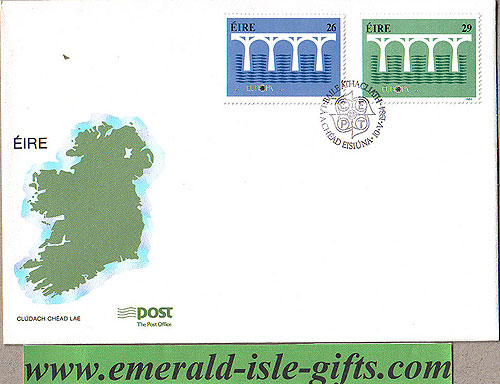 Ireland 1984 Fdc Europa First Day Cover (an Post)
