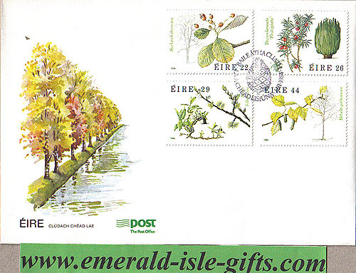 Ireland 1984 Fdc Irish Trees First Day Cover (an Post)
