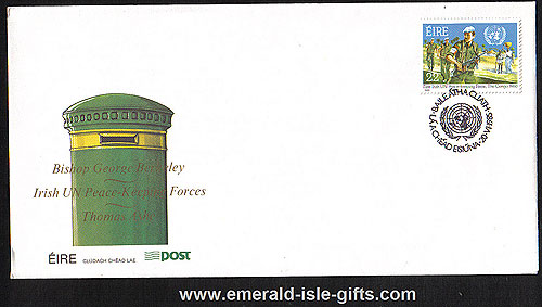 Ireland 1985 Fdc United Nations Peacekeeping (an Post)