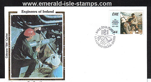 Ireland 1985 Fdc Christmas First Day Cover (an Post)