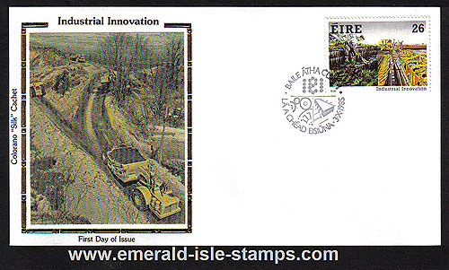 Ireland 1985 Fdc Industrial Innovation (colorano)