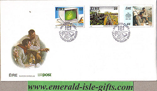Ireland 1985 Fdc Industrial Innovation (an Post)