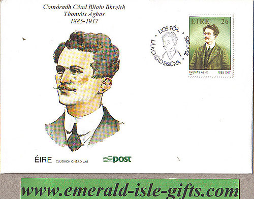 Ireland 1985 Fdc Thomas Ashe (an Post)