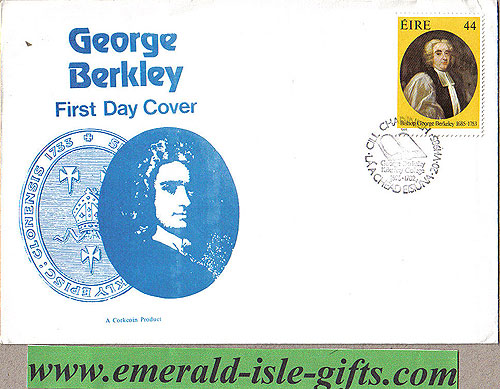 Ireland 1985 Fdc Bishop George Berkeley First Day Cover