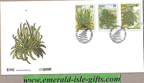 Ireland 1986 Fdc Irish Ferns First Day Cover (an Post)