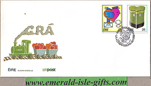 Ireland 1986 Fdc Love Stamps First Day Cover (an Post)