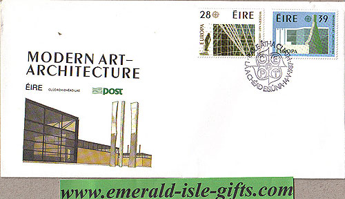 Ireland 1987 Fdc Europa First Day Cover (an Post)