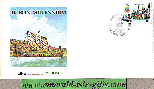 Ireland 1988 Fdc Dublin Millenium First Day (an Post)