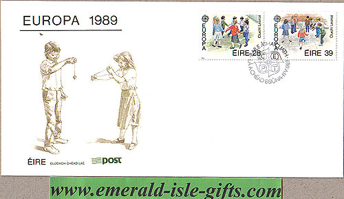 Ireland 1989 Fdc Europa First Day Cover (an Post)