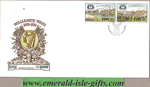 Ireland 1990 Fdc Williamite Wars Part 1 (an Post)
