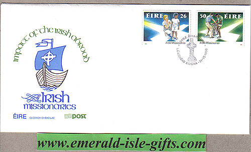 Ireland 1990 Fdc Irish Missionaries First Day (an Post)
