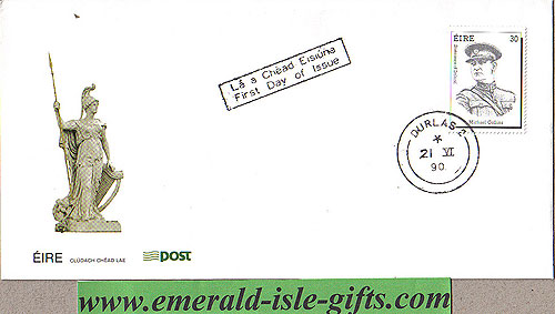 Ireland 1990 Fdc Michael Collins Scarce Cover (an Post)