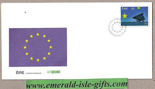 Ireland 1992 Fdc Single European Market (an Post)