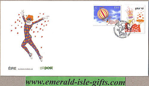 Ireland 1993 Love Stamps First Day Cover (an Post)