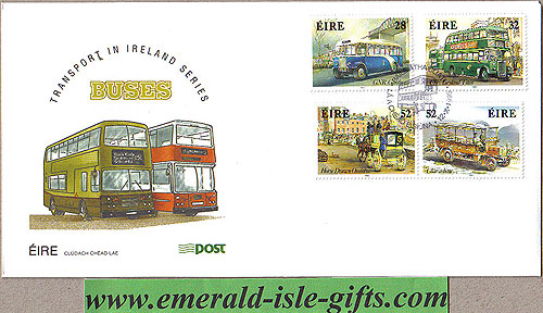 Ireland 1993 Fdc Irish Buses First Day Cover (an Post)