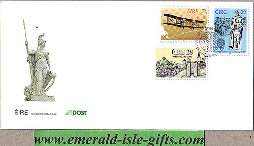 Ireland 1994 Fdc Annivs Alcock & Brown Etc (an Post)