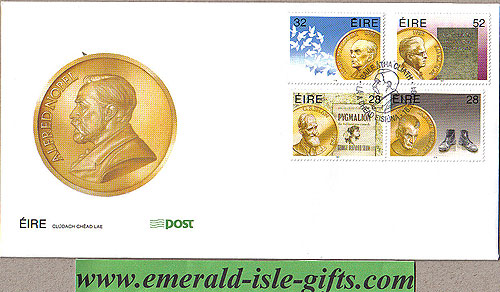 Ireland 1994 Fdc Irish Nobel Prizewinners (an Post)