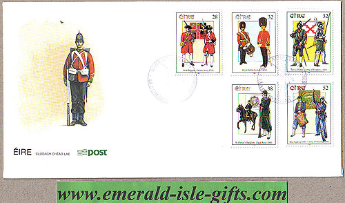 Ireland 1995 Fdc Military Uniforms (an Post)