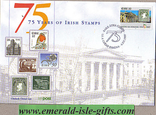 Ireland 1997 Fdc Independence Phase 4 (an Post)