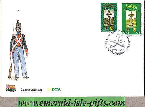 Ireland 1997 Fdc Mexican St. Patrick