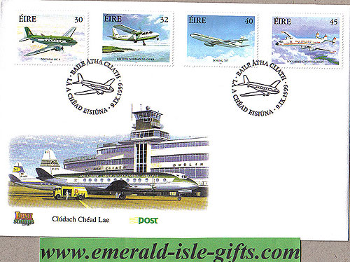 Ireland 1999 Fdc Commercial Aviation (an Post)