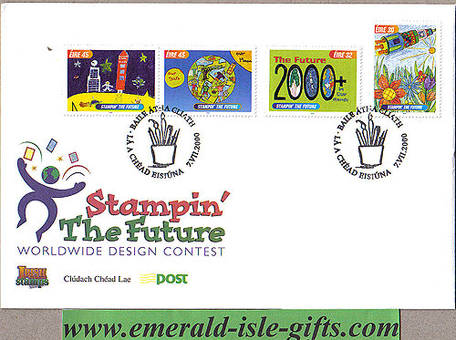 Ireland 2000 Fdc Stampin