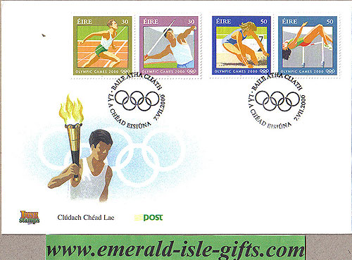 Ireland 2000 FDC Olympic Games Sydney (an Post)